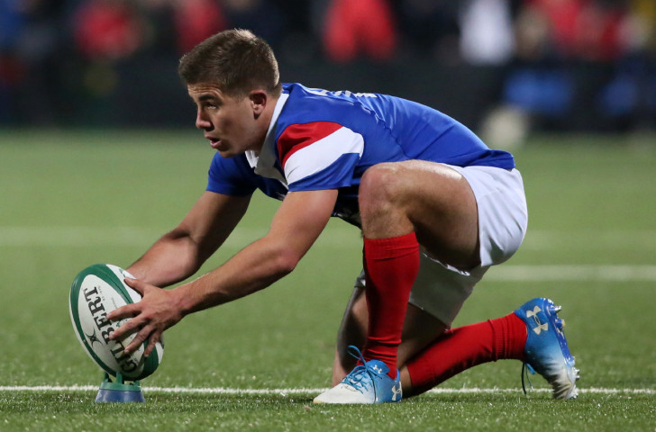 France's Louis Carbonel, the tournament's top scorer when they won the World Rugby under-20 Championship on home soil last year, is among four players returning for the team in the 2019 edition in Argentina ©Getty Images