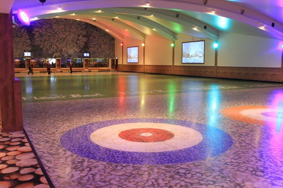 The next event will take place at the recently opened Barton Grange curling rink in Preston ©WCF