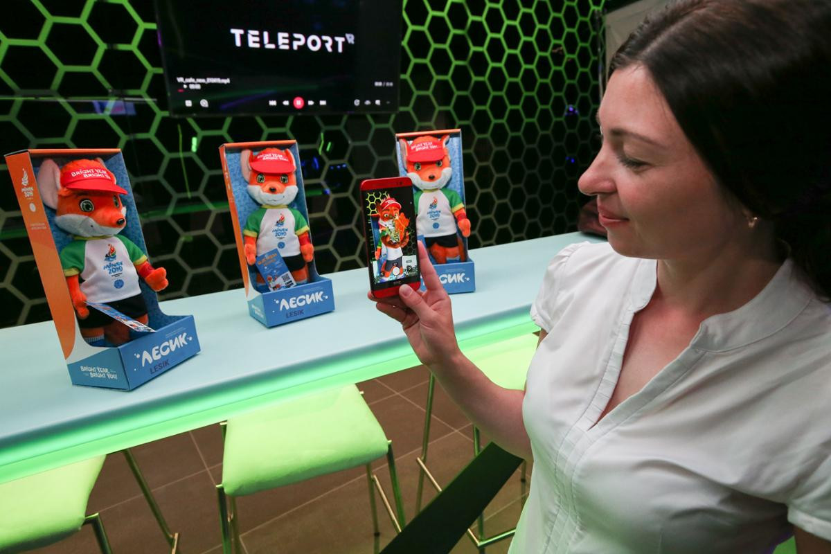 Minsk 2019 augmented reality mobile app launched