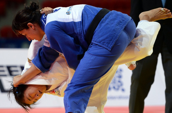 Former world champion Yarden Gerbi was one of two bronze medallists for Israel at the IJF Judo Grand Slam in Abu Dhabi