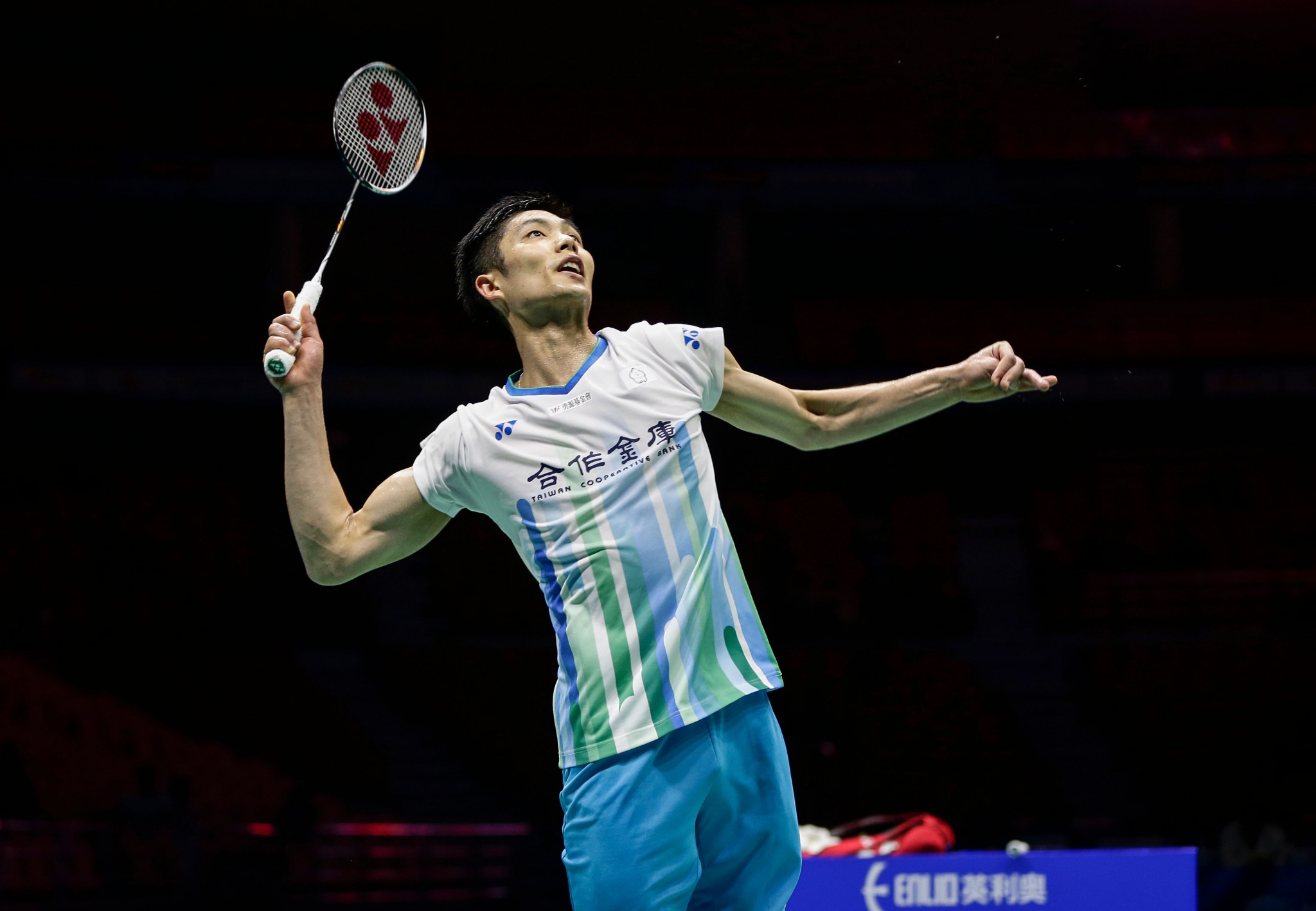 Chou Tien Chen of Chinese Taipei, world ranked three, is men's singles top seed at the BWF Australian Open that starts i Sydney tomorrow ©Getty Images