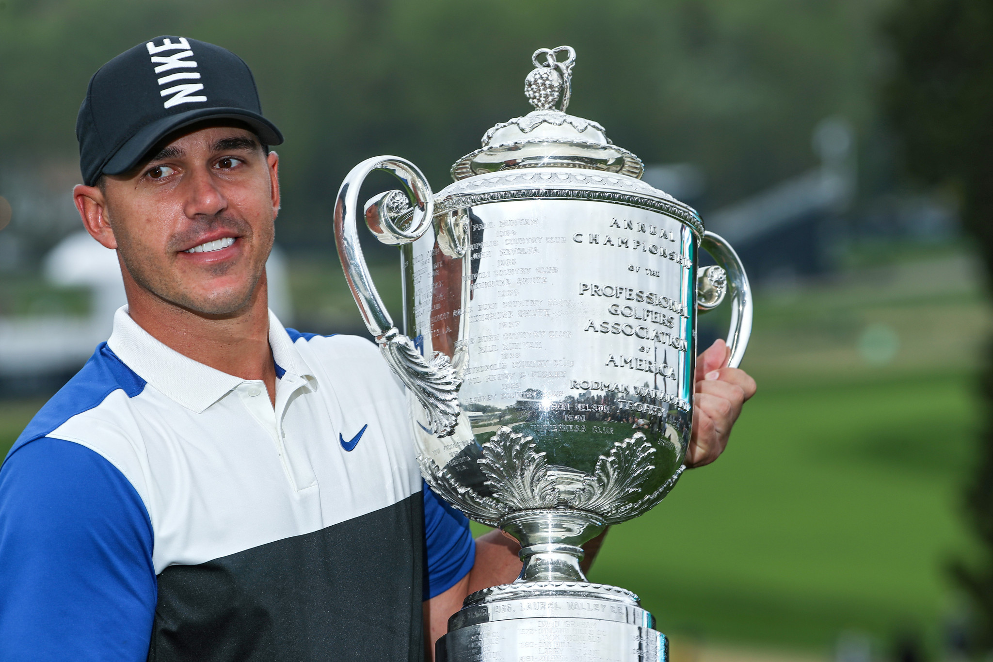 Golfer Brooks Koepka has been shortlisted for the Team USA male athlete-of-the-month award for May ©Getty Images