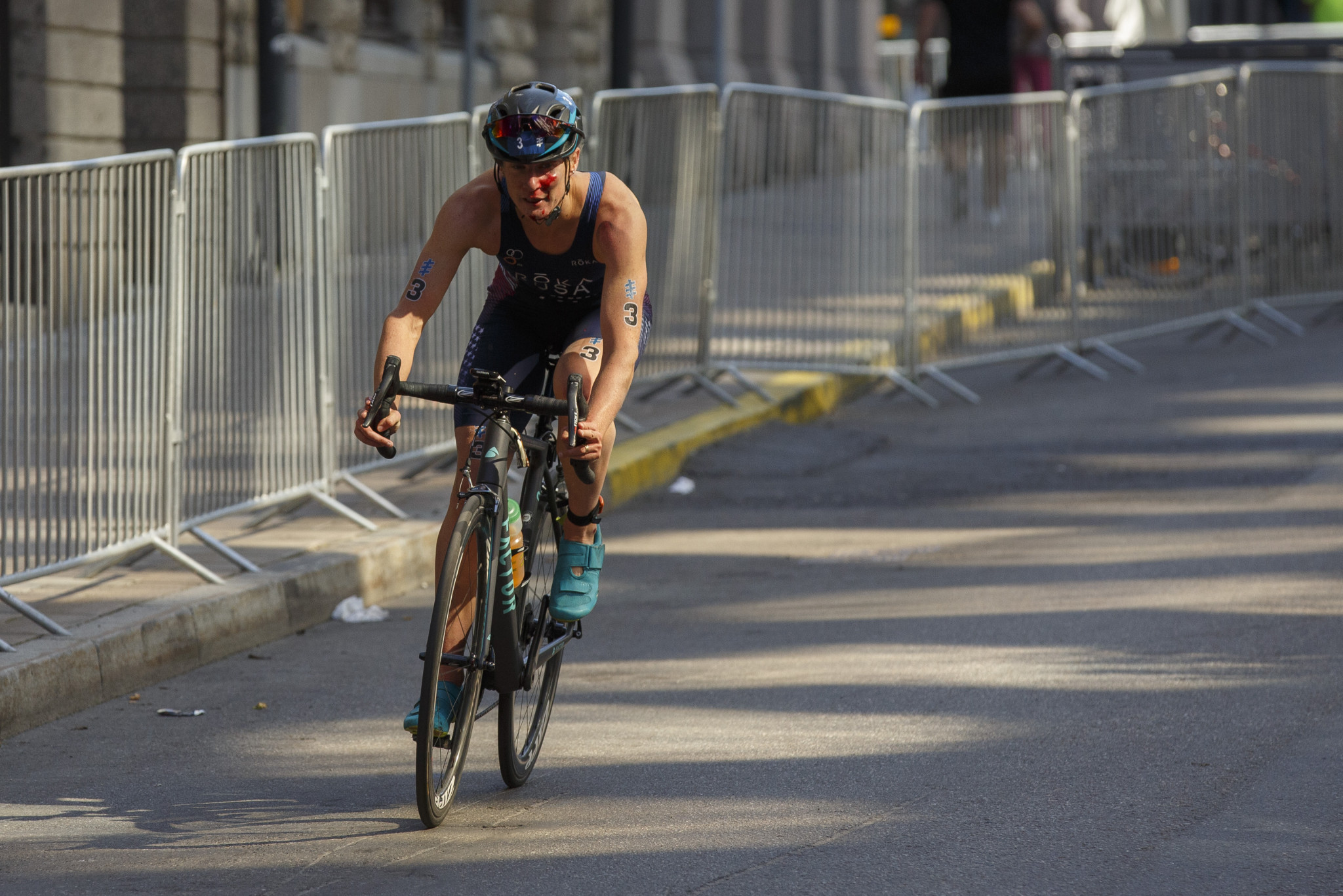 Triathlete Katie Zaferes has been nominated for the Team USA female athlete-of-the-month award ©Getty Images
