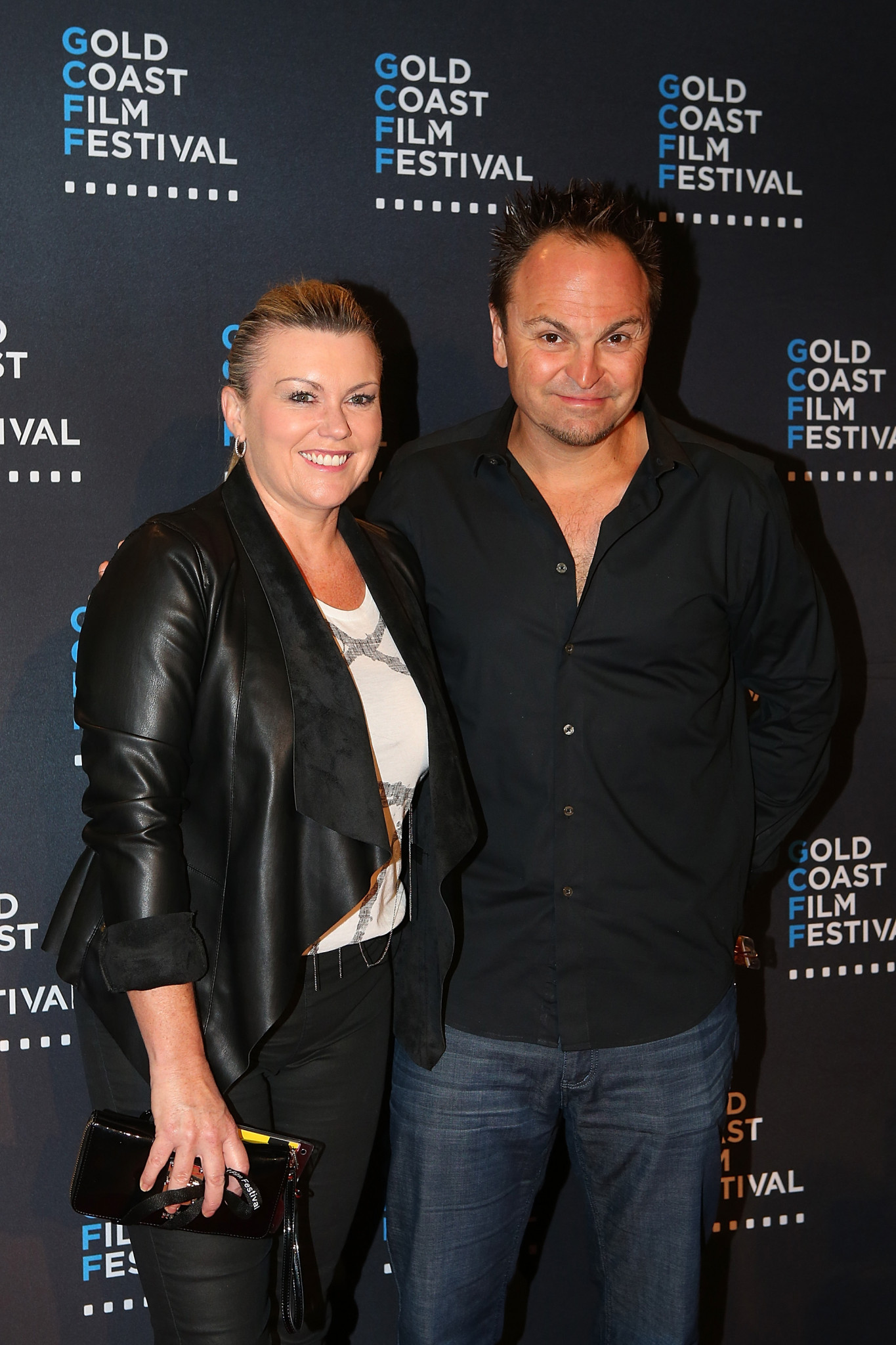 Australia's first Winter Olympic champion Steven Bradbury and wife at the opening night of the 2016 Gold Coast Film Festival. Now a film is being planned about his life, entitled Last Man Standing ©Getty Images