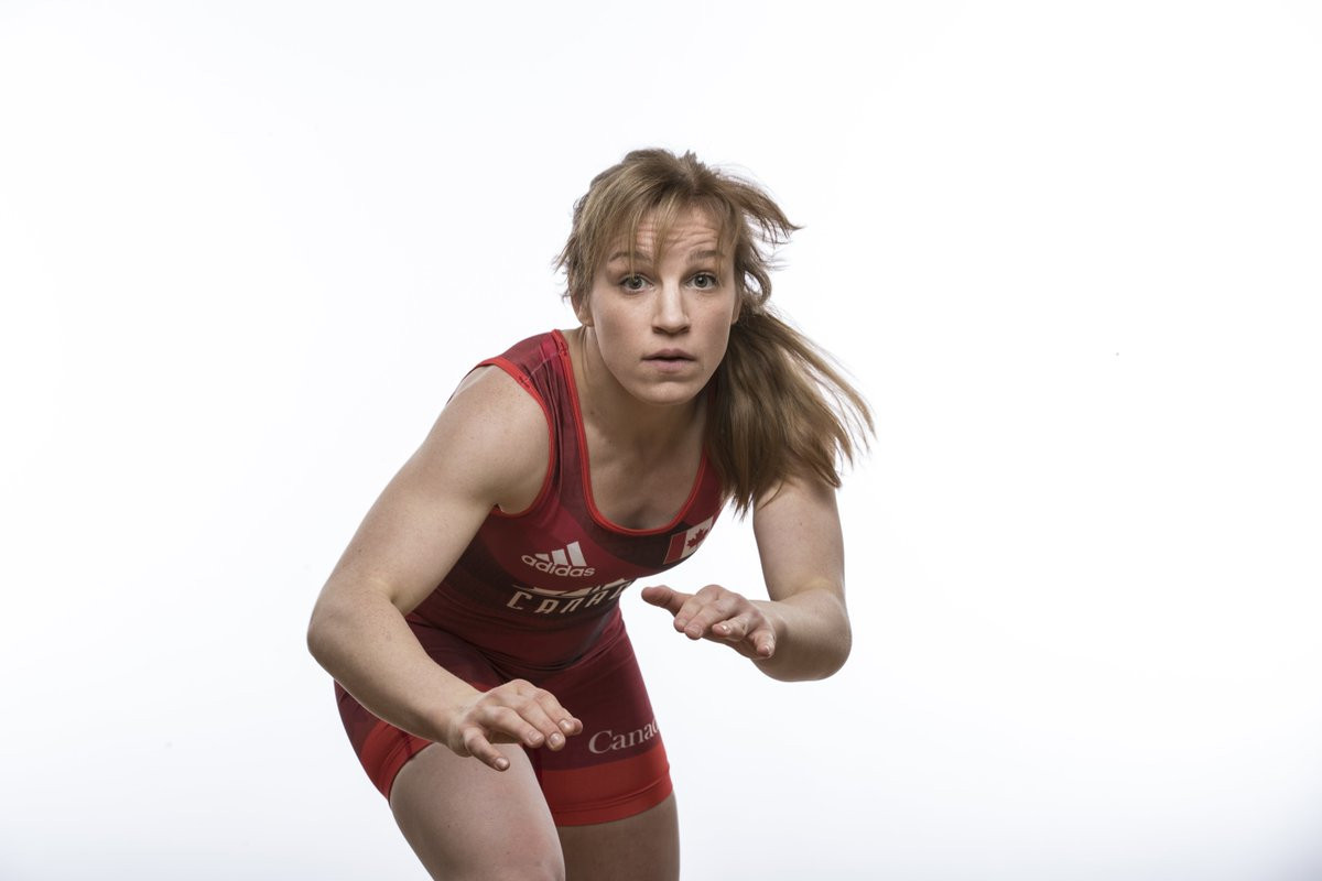 Diana Weicker is among Canada's wrestling team for Lima 2019 ©Twitter