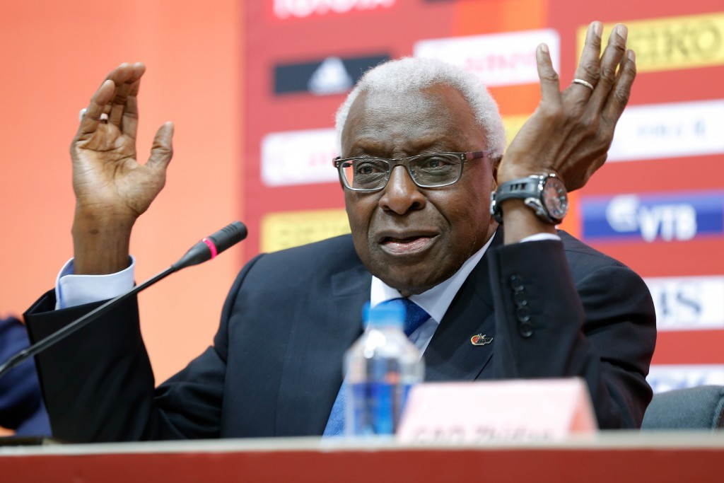 The investigation opened last week against former IAAF President Lamine Diack shows the need for less governing body involvement in organisations like WADA, Chris Eaton believes ©Getty Images