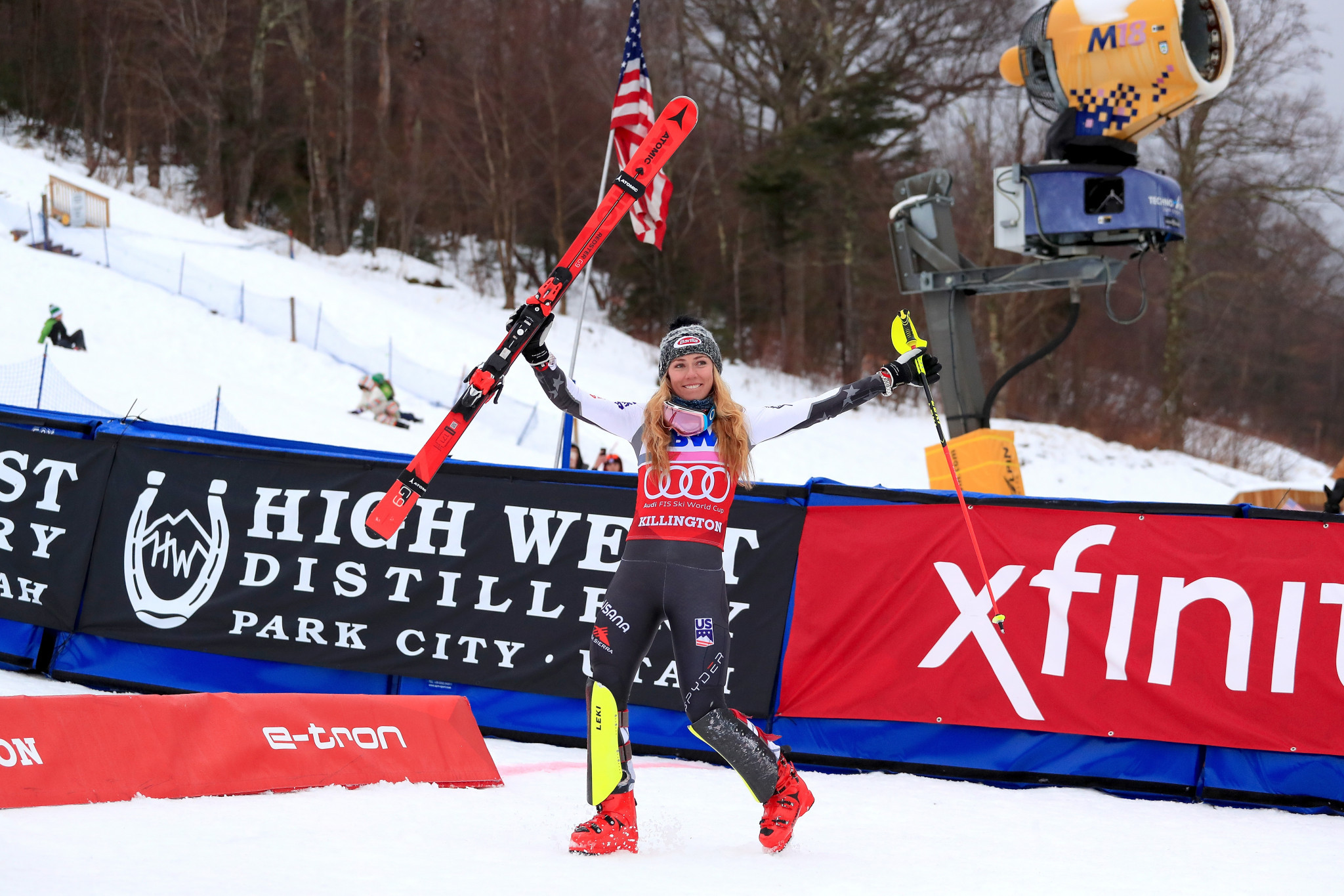 Shiffrin has emerged victorious in slalom in each of the last three years in Vermont ©Getty Images