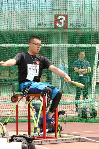 The wooden clubs will be used in club throw events at the Paralympic Games in Tokyo ©Tokyo 2020
