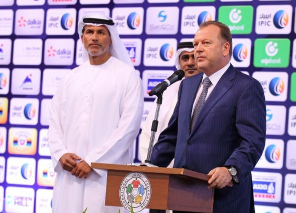 IJF President Marius Vizer has hailed last weekend's IJF Grand Slam in Abu Dhabi as a success despite the controversy surrounding the banning of Israel's flag ©IJF
