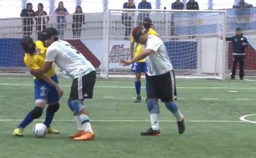 Brazil and Argentina draw on opening day of IBSA Blind Football Americas Championships