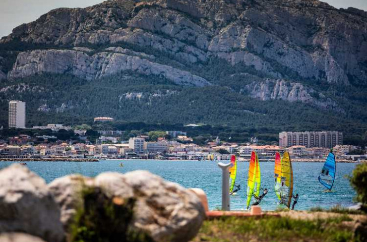 Excellent conditions on day one of the Sailing World Cup Series Final at Marseille enabled competitors across 10 Olympic classes to complete all their scheduled races ©World Sailing