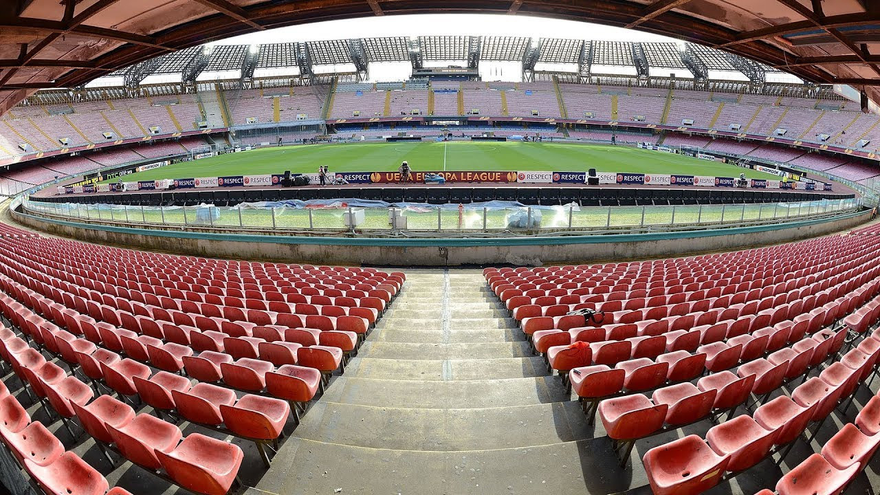 It will then be taken back to Italy, where it will arrive at San Paolo Stadium in time for the Opening Ceremony on July 3 ©Getty Images