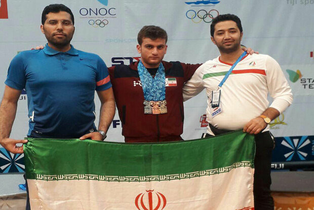 Iran enjoyed a good day today at the IWF Junior World Championships with a silver medal for Mohammad Hosseini in the 89kg and bronze for Hossein Soltani in the 81kg ©Iran Weightlifting Federation