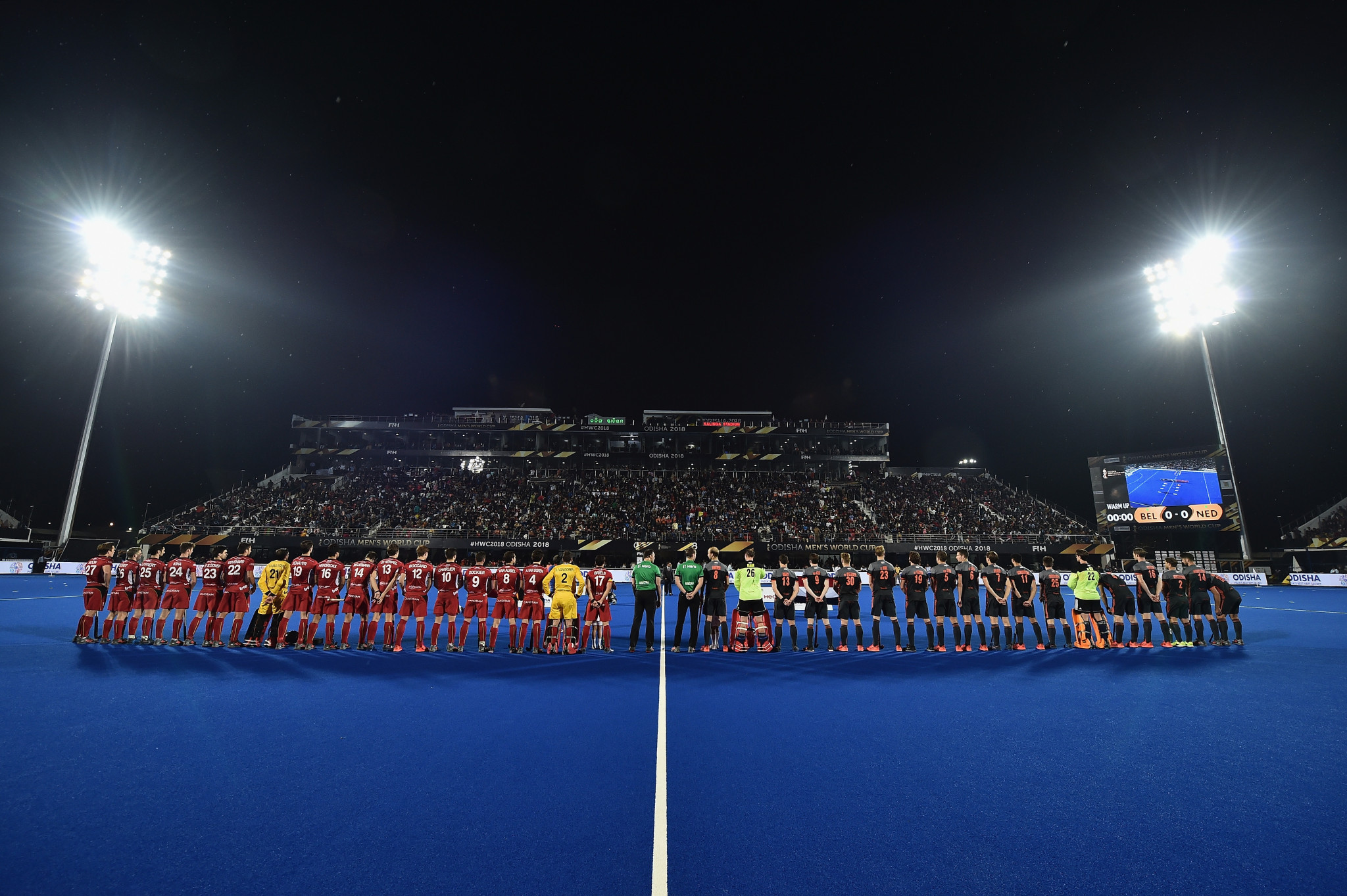 The FIH Series Finals event in Bhubaneswar will be held at Kalinga Stadium, where the 2018 FIH Men's Hockey World Cup was held ©Getty Images
