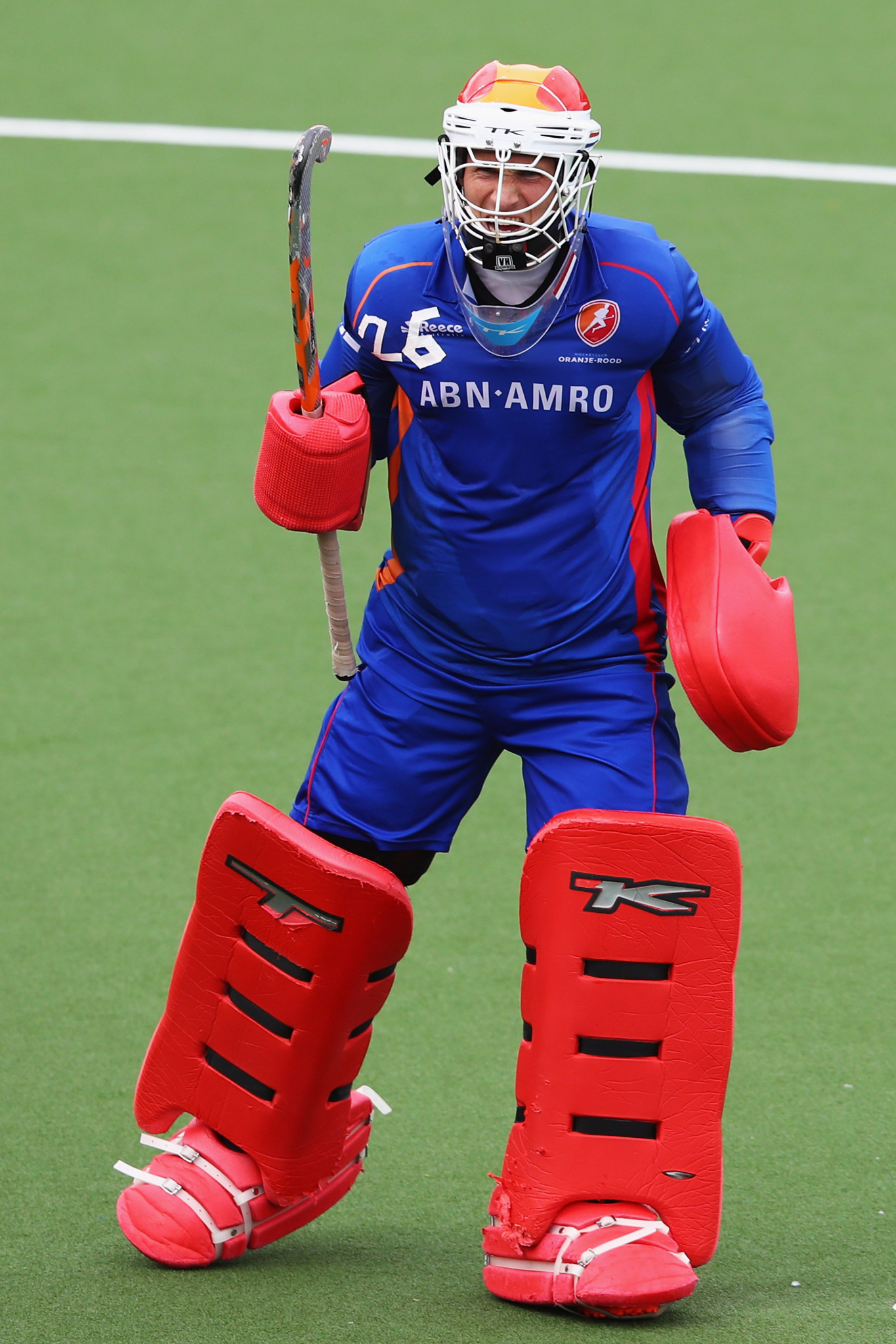Goalkeeper Pirmin Blaak was the hero for the Netherlands men's hockey team with three penalty shootout saves against New Zealand ©Getty Images