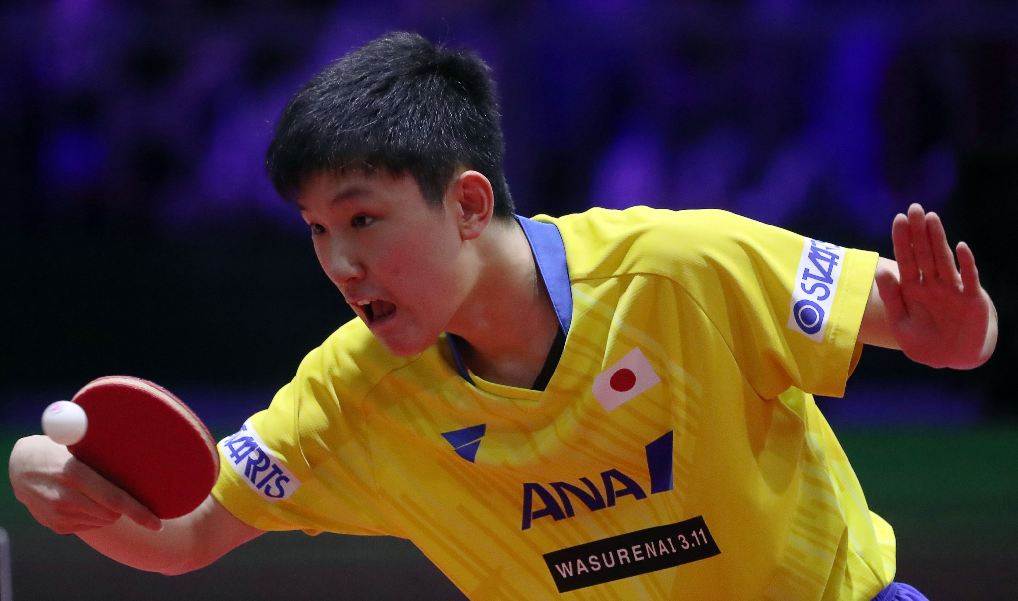 Japan's Tomokazu Harimoto is a main contender in the men's ITTF Hong Kong Open ©Getty Images