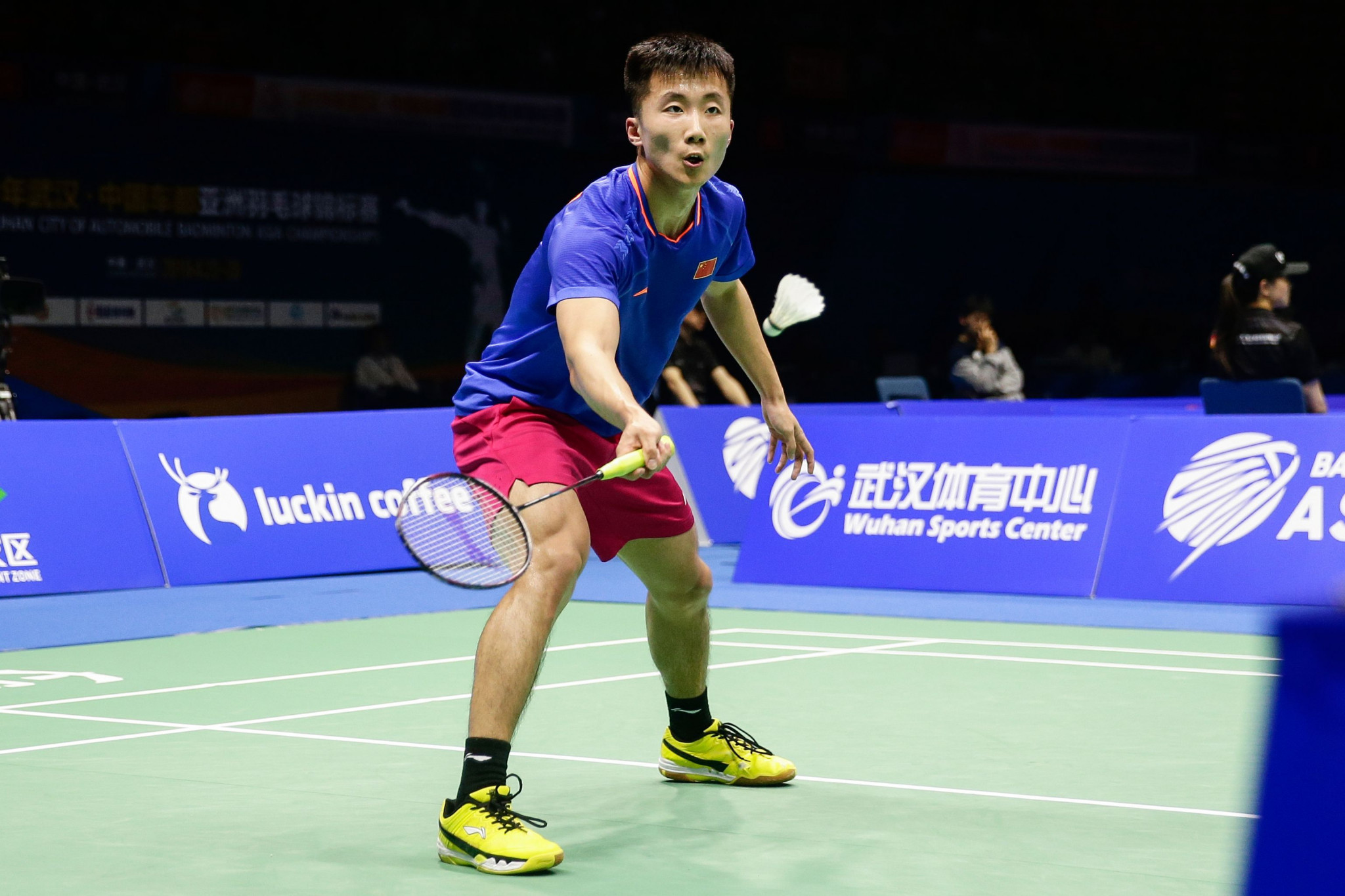Defending champion Lu knocked out of BWF Australian Open