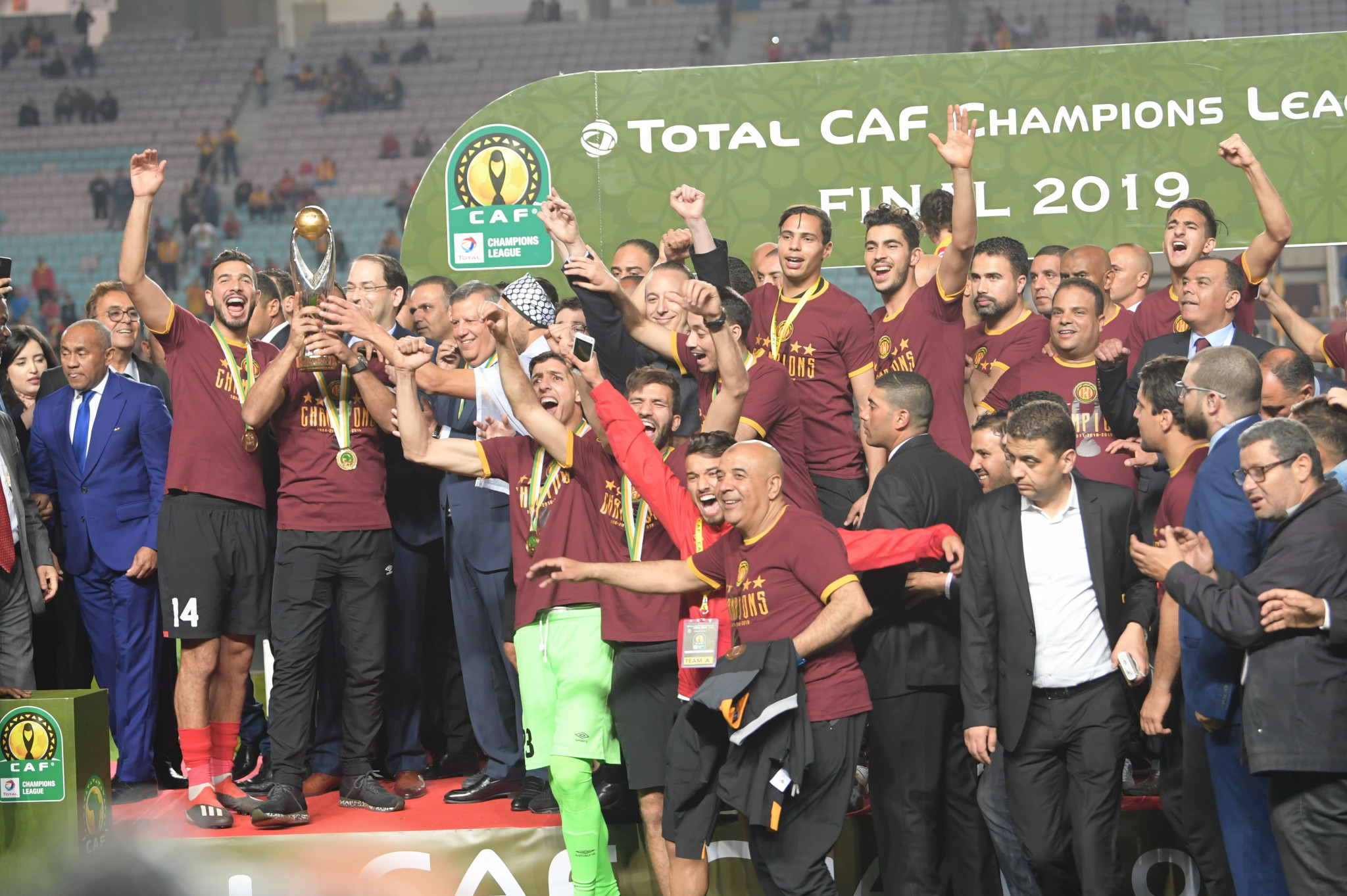 Esperance have been forced to return their trophy and CAF Champions League winners medals ©Getty Images