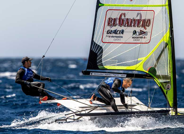 High risks and high winds before second day of sailing at Hempel World Cup Final is cut short