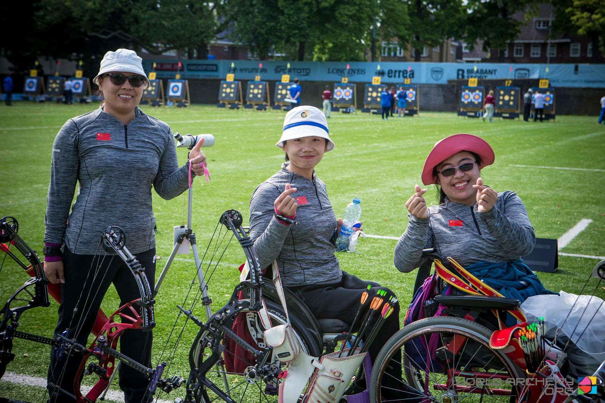 China set a world record in the compound women's open team event at the World Archery Para Championships ©World Archery