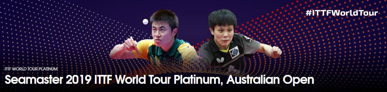 The Australian Open is an ITTF World Tour Platinum event ©ITTF
