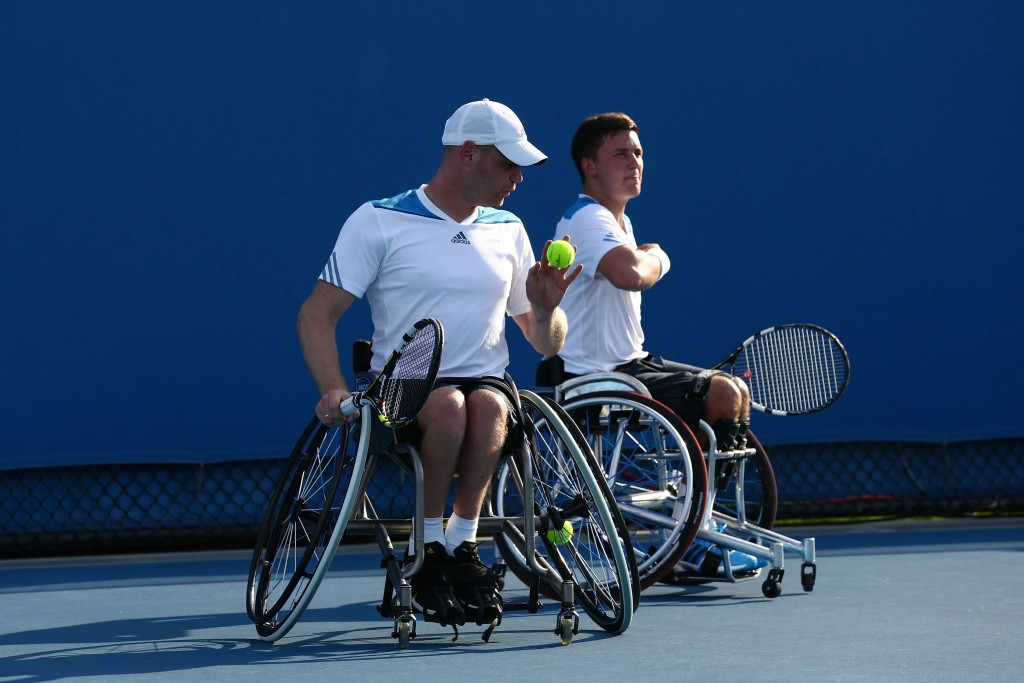 Michael Jeremiasz and Gordon Reid have a 100 per cent record in the men's doubles