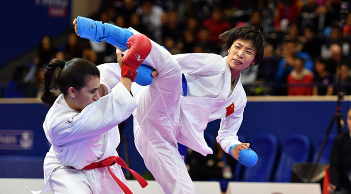 Karate 1-Premier League debuts in Shanghai as Chinese embrace the sport