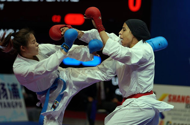 Chinese karateka will seek to emulate the four medals won at last year's Karate 1-Series A event in Shanghai when the WKF's Karate 1-Premier League makes its debut in the city from tomorrow ©WKF