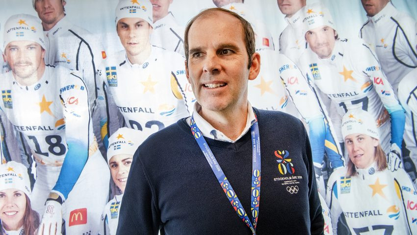 Stockholm Åre 2026 chief executive Richard Brisius said sustainability is in the Bidding Committee's DNA ©Stockholm Åre 2026