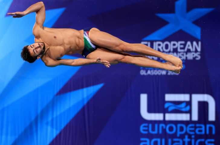 Italy's European 1m springboard silver medallist Giovanni Tocci is among those competing in the FINA Diving World Series event in Madrid which starts tomorrow ©Getty Images