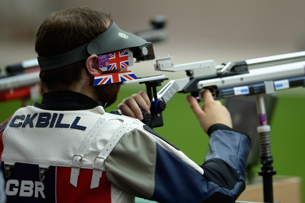 Britain's Ryan Cockbill was in good form in Fort Benning ©Getty Images