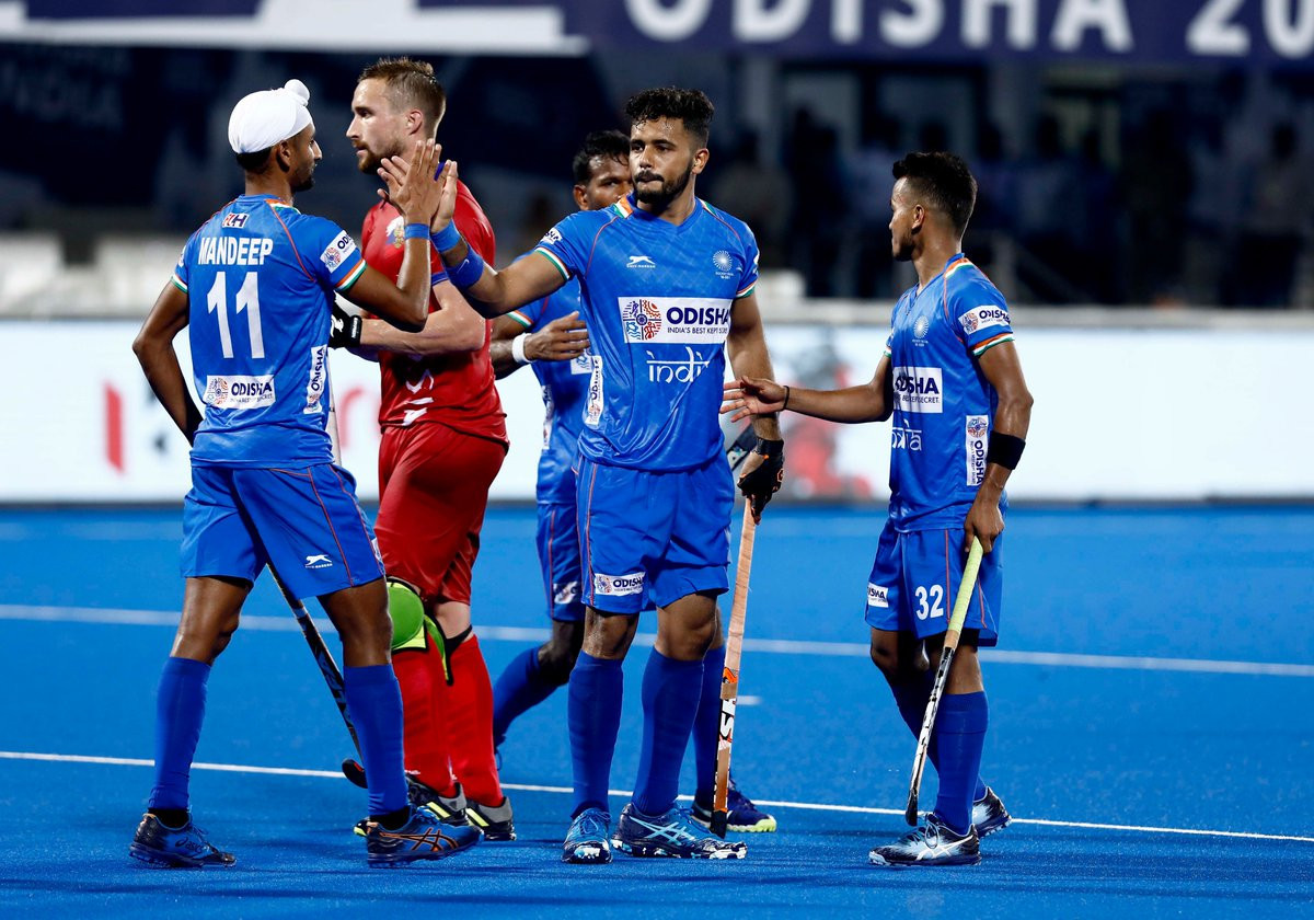 Hosts India thrash Russia at FIH Series Finals event in Bhubaneswar