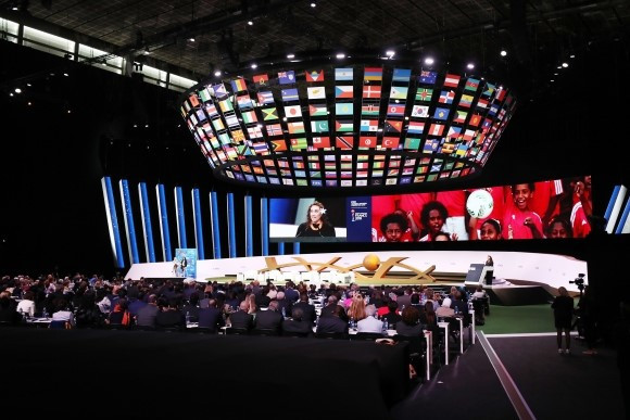 The inaugural FIFA Women's Football Convention began today in Paris ©FIFA