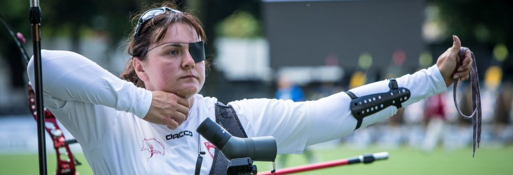 Shock wins for Olszewska and Thompson at World Archery Para Championships in 's-Hertogenbosch
