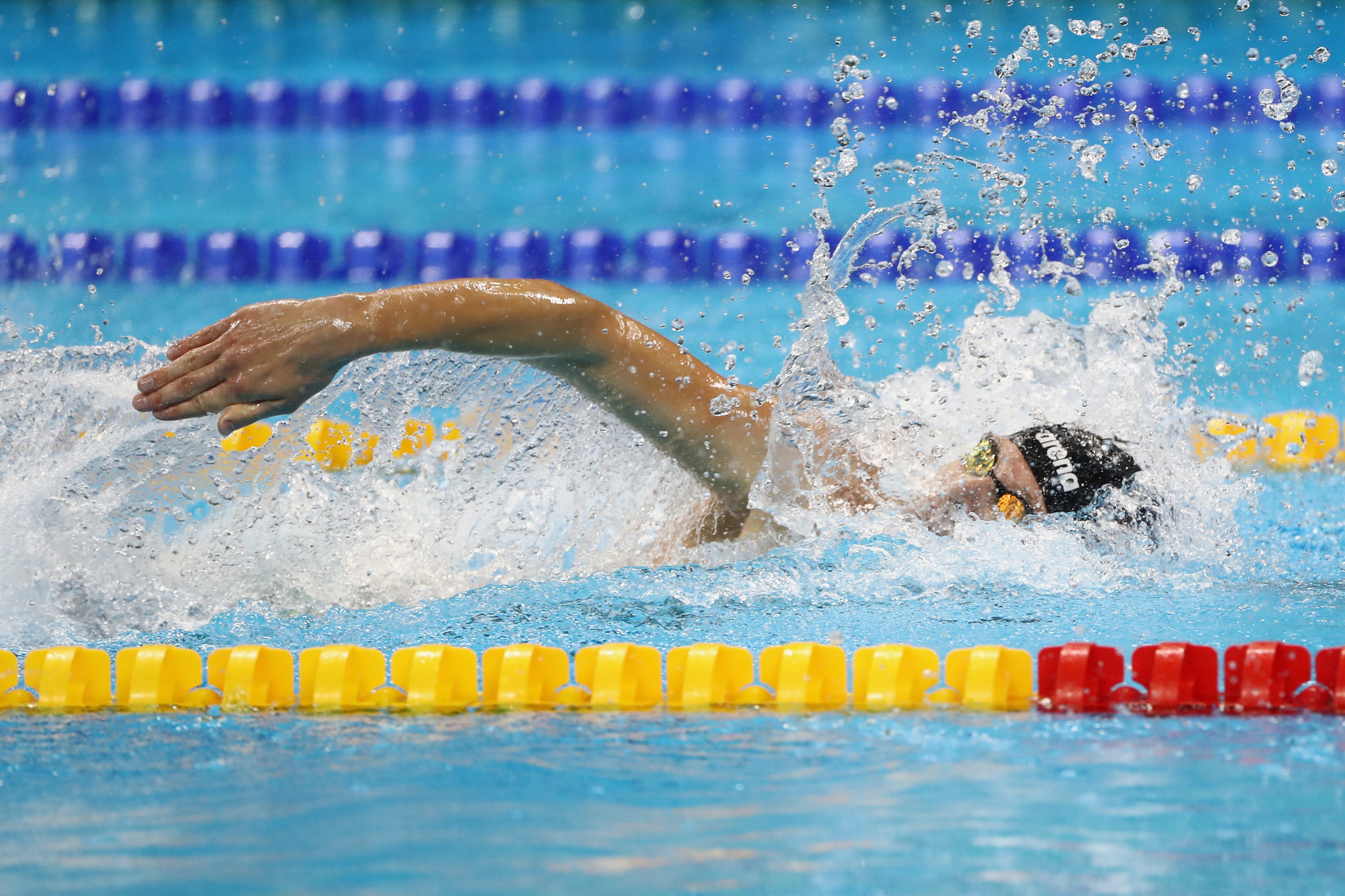 Ihar Boki of Belarus set an S13 world record as the World Para Swimming World Series finale began in Berlin, Germany ©Getty Images