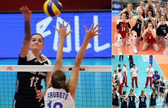 Italy falter to first week three defeat in FIVB Women's Nations League