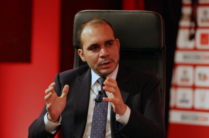 Prince Ali Bin Al Hussein has confirmed he will stay in the race to become the next FIFA President ©Getty Images