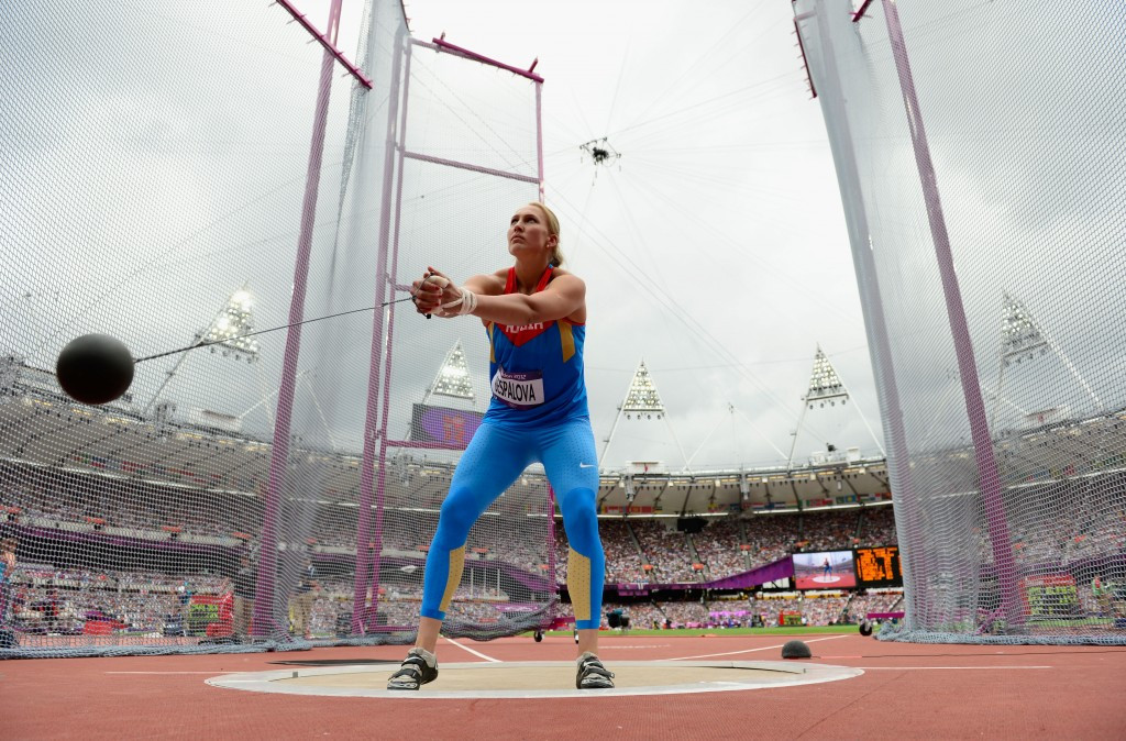 London 2012 hammer thrower Maria Bespalova has also been banned