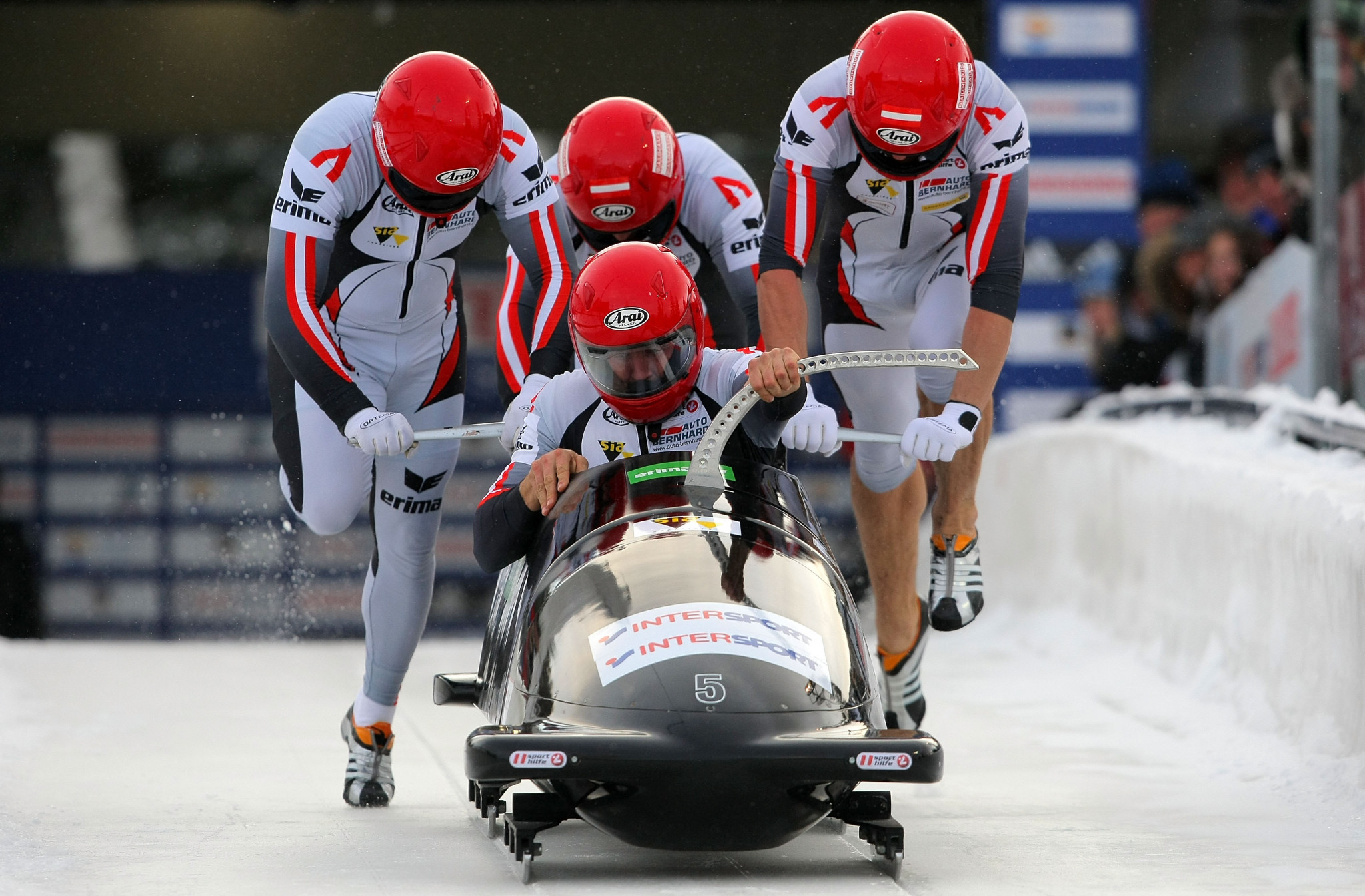 Wolfgang Stampfer is a former bobsleigh pilot for Austria ©Getty Images