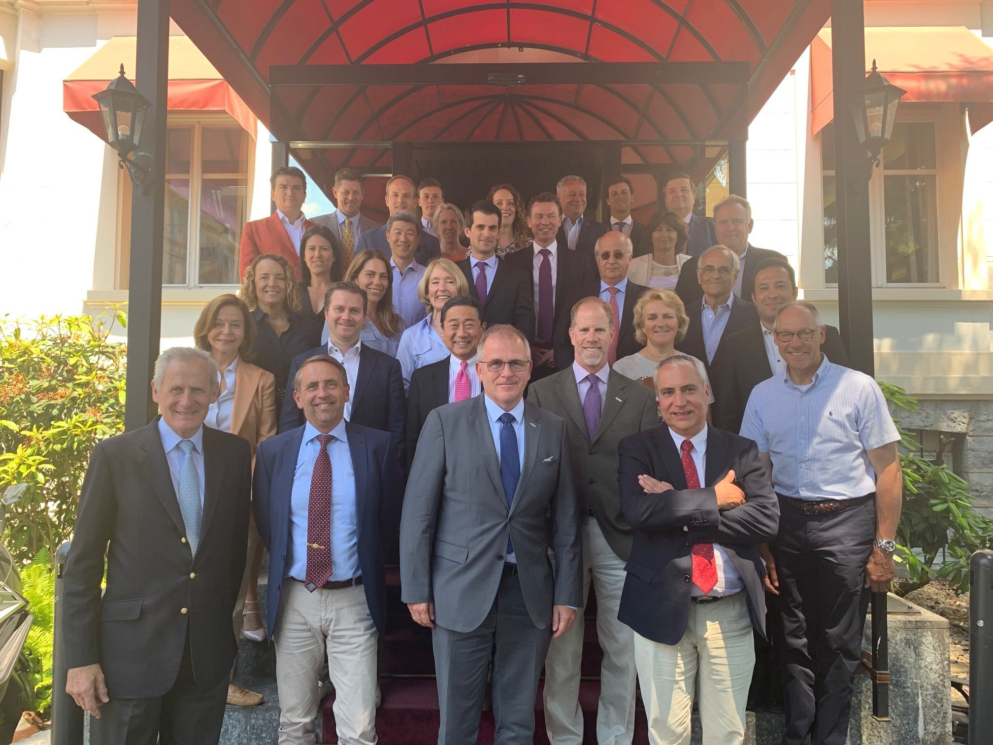 Equestrian chiefs met in Lausanne to discuss the future of jumping ©FEI