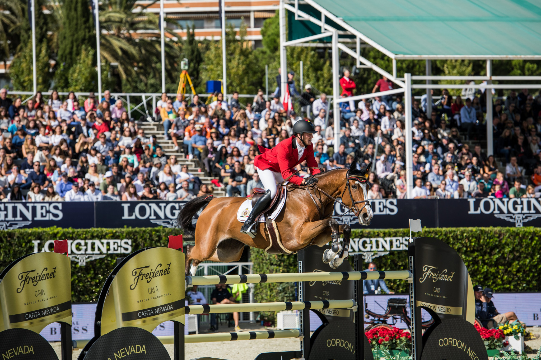 Talks held between the FEI and equestrian delegates resulted in an agreement that the Longines FEI Jumping Nations Cup should be the most important on the calendar ©FEI