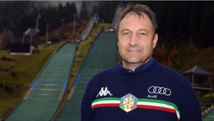 Italy's Sandro Pertile was recently appointed FIS race director for ski jumping ©Sandro Pertile/FIS
