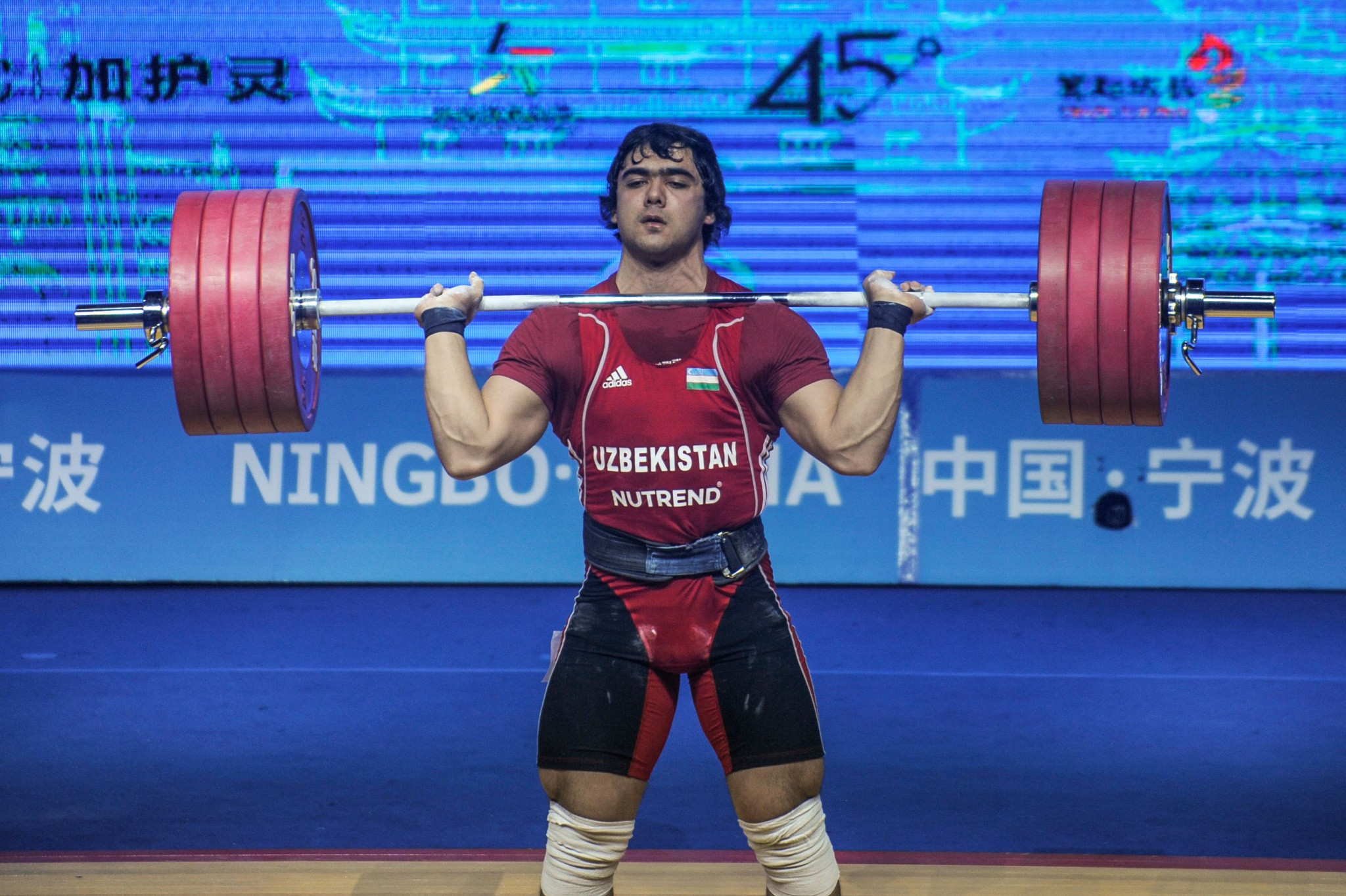 Akbar Djuraev did not need to find his best form to win gold but was still impressive ©Getty Images