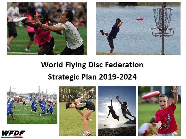 Flying disc was overlooked for inclusion at Paris 2024 but Olympic inclusion is a key aim of the sport's new strategic  plan©WFDF