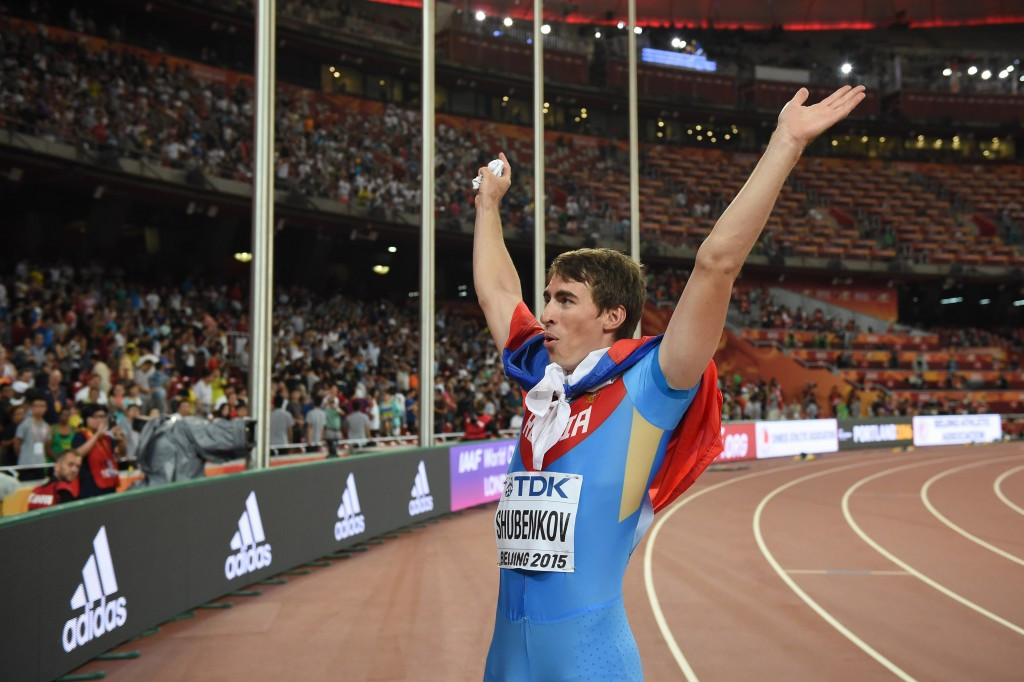Hurdlers Shubenkov and Hejnova nominated for IAAF Athlete of the Year