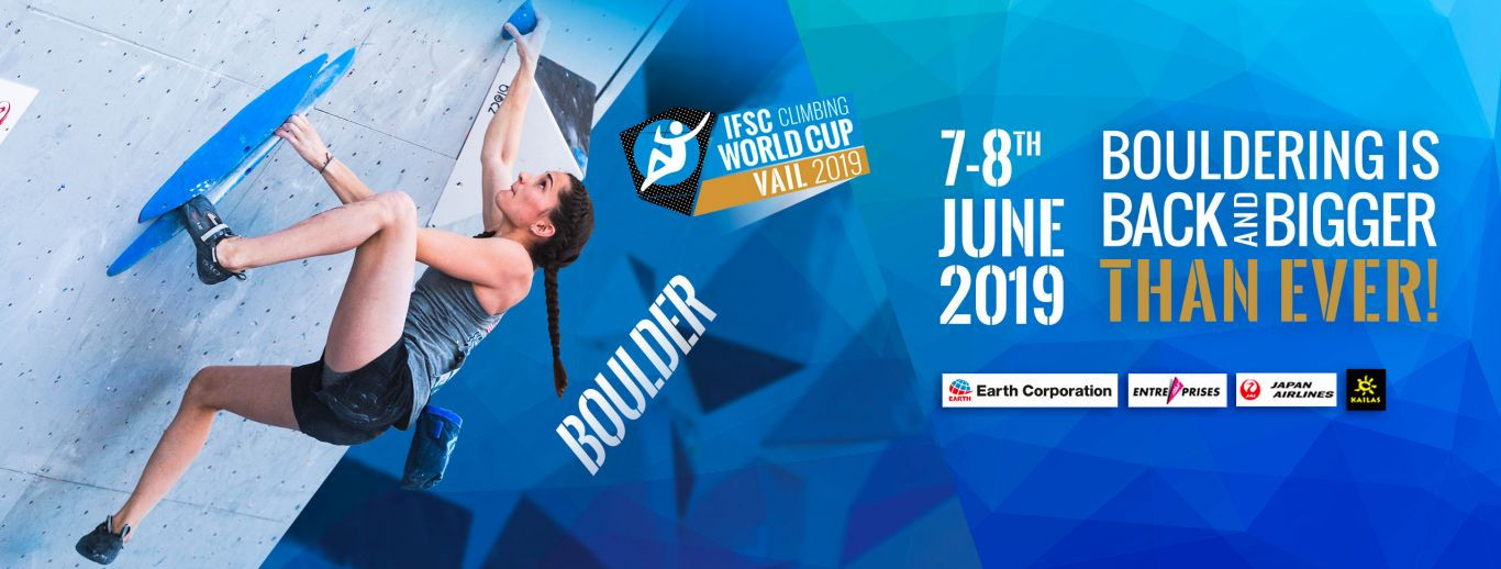 The final IFSC Bouldering World Cup of 2019 is set to take place in Vail in Colorado over the coming two days ©IFSC