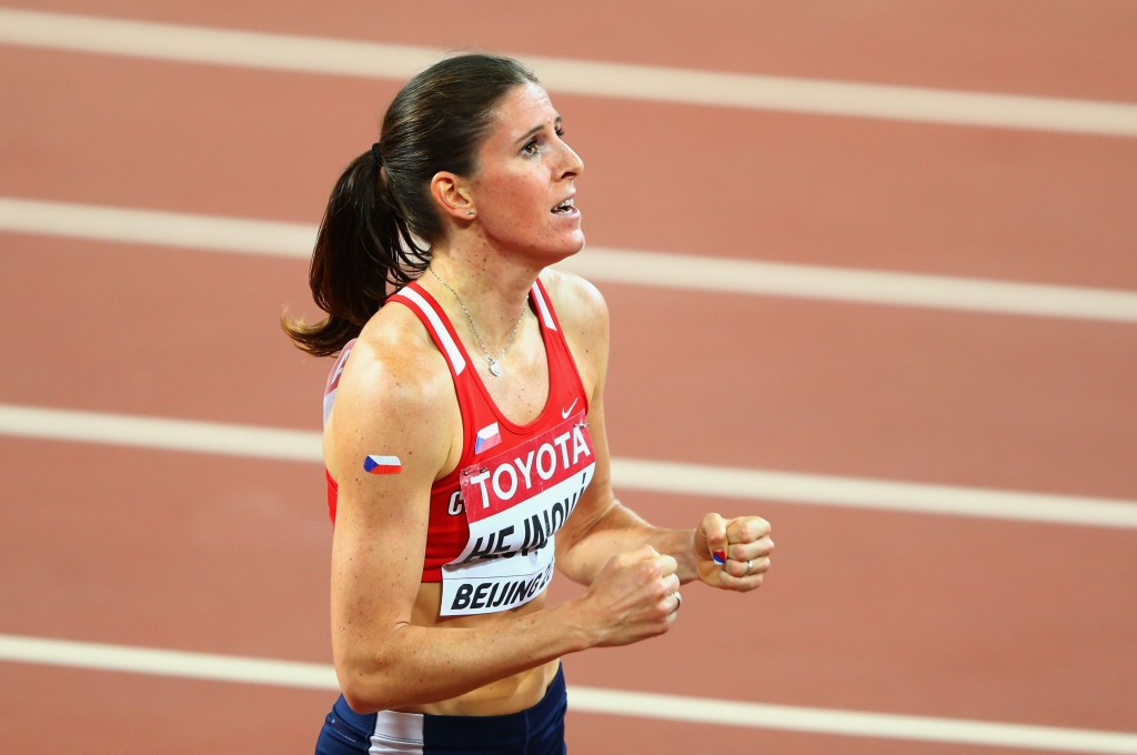 Zuzana Hejnova became a back-to-back world champion in Beijing