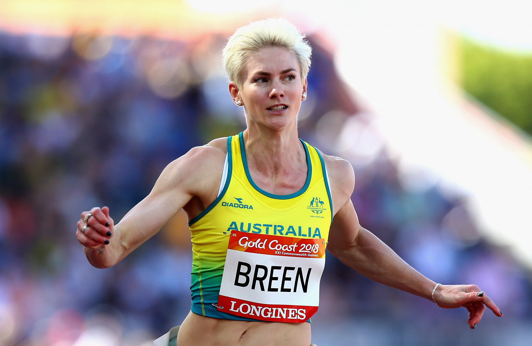 A group of 42 athletes, including Olympians and Commonwealth Games participants, such as sprinter Melissa Breen have been announced in the Australia team for the Samoa 2019 Pacific Games ©Getty Images