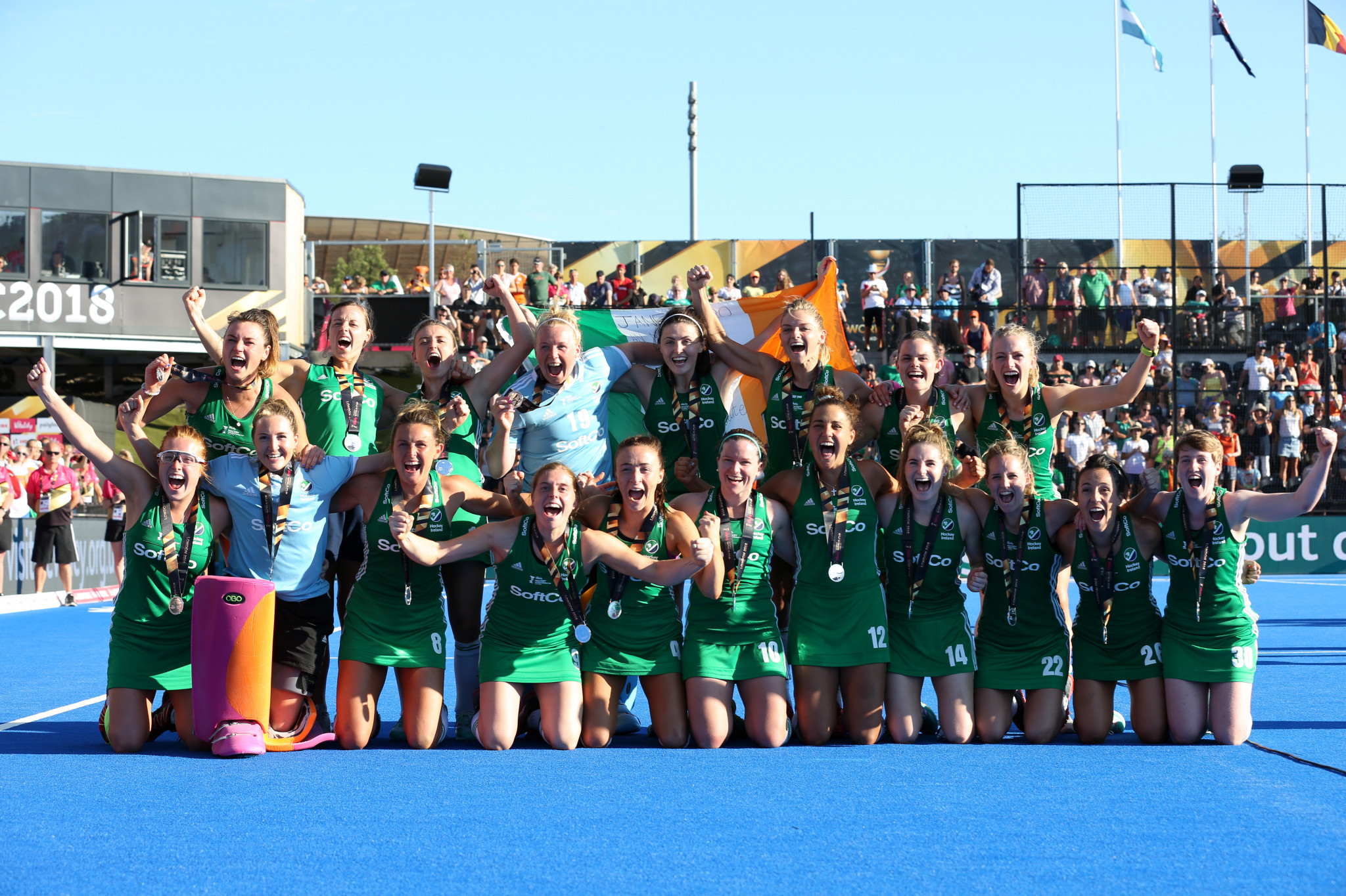 World Cup runners-up Ireland set to host Women's FIH Series Finals