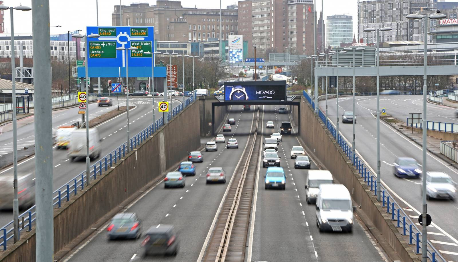The Birmingham Commonwealth Games Bill gives the Government's Transport Secretary special powers to introduce measures to ensure traffic operates smoothly during the events in 2022 ©Getty Images